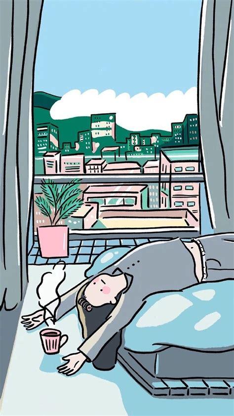 Aesthetic Illustration Aesthetic Lock Screen Anime Wallpaper Iphone by Untitled Coffee Wallpaper En 2019 Illustration