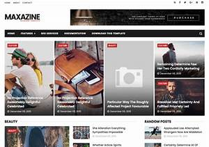 maxazine blogger template o blogspot templates 2018 With e magazine templates free download