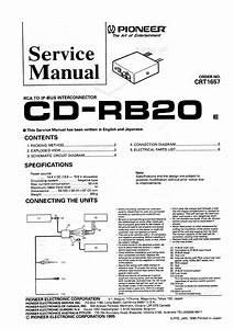Pioneer Cd-rb20