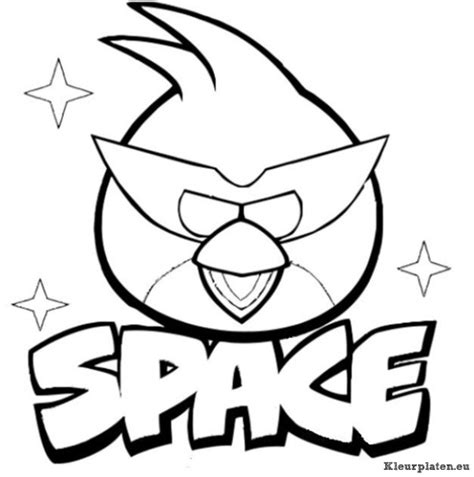 Angry Birds Kleurplaten Space by Angry Birds Space Kleurplaten Kleurplaten Eu