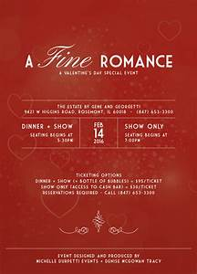 A Fine Romance, A Valentine's Day Special Event | Dinner ...