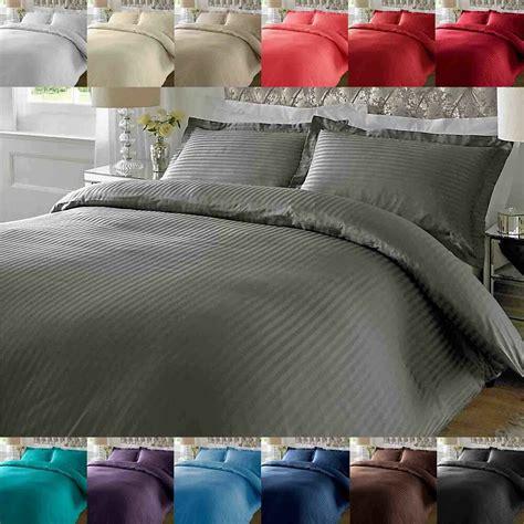 Ebay Duvet by 100 Cotton Luxury Duvet Cover Set Pillow Bedding