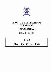 Electrical Circuit Lab