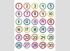 Numbers Clipart 130 ClipartXtras