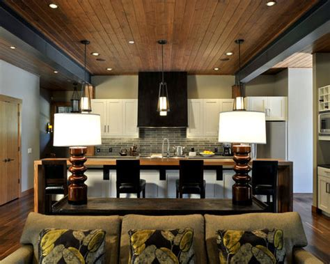 family room kitchen combo home design ideas pictures
