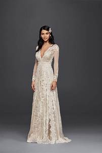 melissa sweet for david39s bridal linear lace wedding dress With melissa sweet linear lace wedding dress