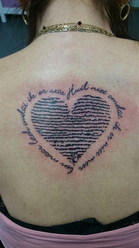 couples fingerprint tattoo images  pinterest