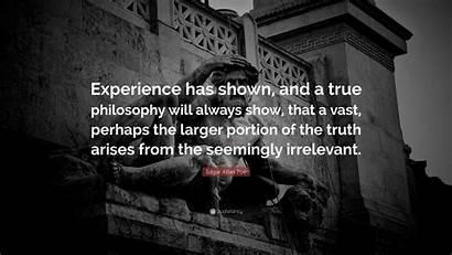 Poe Edgar Allan Quotes Wallpapers Philosophy Quote