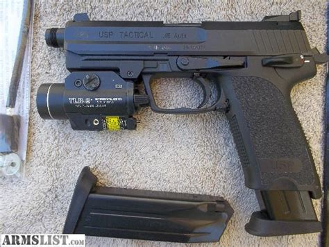 hk usp 45 laser light armslist for sale h k usp tactical 45 acp with tlr 2