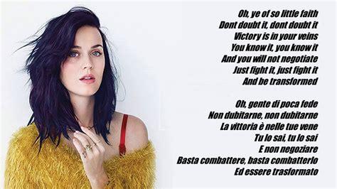 rise testo katy perry rise lyrics traduzione italiano