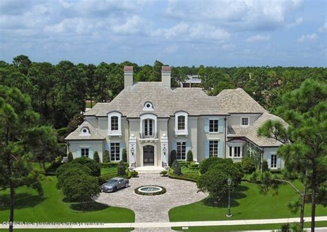 Country French Living Room Pictures by 6 9 Million Palm Beach Gardens Mansion With Elegant