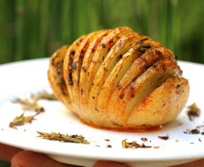 origan cuisine hasselback potatoes pommes de terre rôties à la suédoise