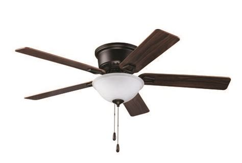 Turn Of The Century® Alston 52 In Bronze Hugger Ceiling