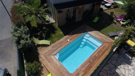 mini piscine coque 10m2 piscine coque polyester 224 fond plat moins de 10m2 mod 232 le