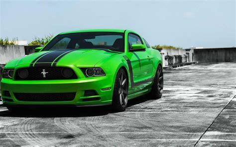 Green Ford Mustang, Ford Mustang Gt Wallpaper Widescreen