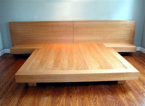 king size platform bed frame plans diy indoor king
