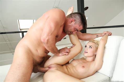 Stepdad Chokes Evie With His Giant Penis