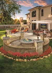 trending backyard brick patio design ideas 5 Backyard Patio Trends for Your Garden - TheyDesign.net ...