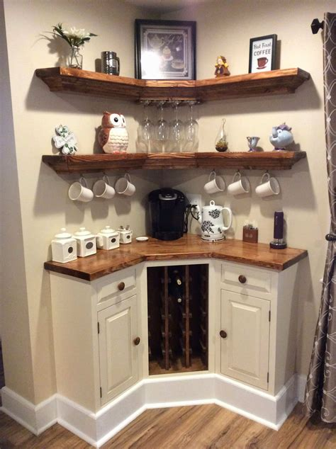 Does this make you rethink your. Home Bar Designs For Small Spaces Luxury Built In Corner Coffee Wine Decorating Ideas Room ...