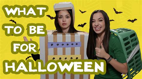 What Should I Be For Halloween?  The Merrell Twins Youtube