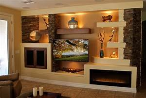 Media wall 1 contemporary family room phoenix by for Media wall design