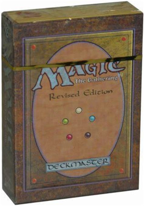 Revised Starter Deck (mtg)  Magic The Gathering Sealed