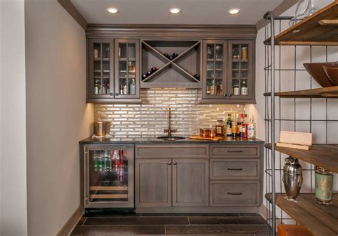Basement Bar Cabinet Ideas by 45 Basement Kitchenette Ideas To Help You Entertain In