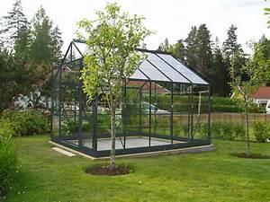 Base Pour Serre De Jardin En Verre 742m