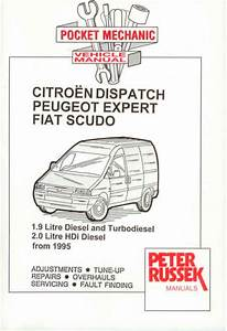 Citroen Dispatch Fiat Scudo Peugeot Expert New Manual