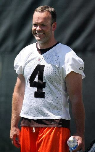 cleveland browns kicker phil dawson  verge  breaking