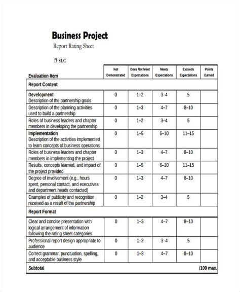 project report examples samples  google docs