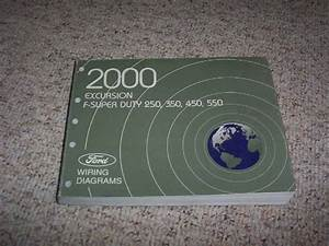 2000 Ford Excursion Electrical Wiring Diagram Manual Xlt Limited 5 4l 7 3l 6 8l