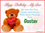 Happy Birthday Gustav - Happy Birthday images for Name