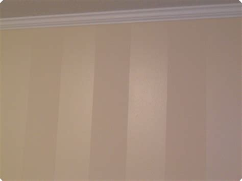 Bedroom Wall Paint Sheen by Vertical Stripes Same Color Paint Flat Semi Gloss