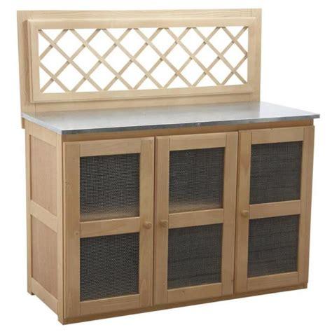 meuble de cuisine exterieur meuble pour cuisine d 39 extérieur 120 x 51 x 120 achat