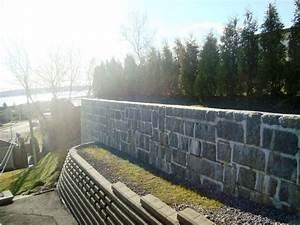 Construire Un Mur En Pierre : construire un muret de sout nement murs en pierres ~ Melissatoandfro.com Idées de Décoration