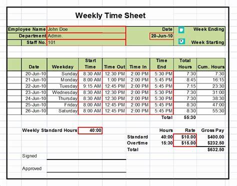 excel weekly timesheet tangseshihtzuse