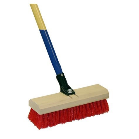 shop harper brush 10 quot deck scrub brush at lowes com