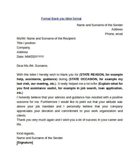 formal   letter format college scholarship