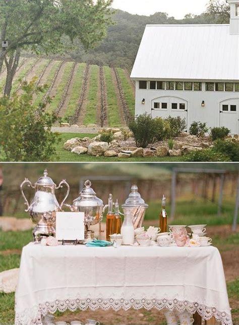 Vintage Coffee Station For Brunch Wedding Reception