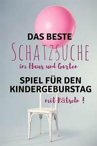 Spiele Für Den Kindergeburtstag : ideen f r den kindergeburtstag schatzsuche im haus und garten ~ Orissabook.com Haus und Dekorationen