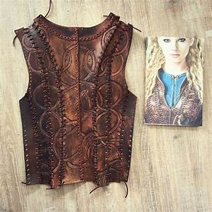 Back of #leather top of #season3 #Cosplay #Lagertha # ...