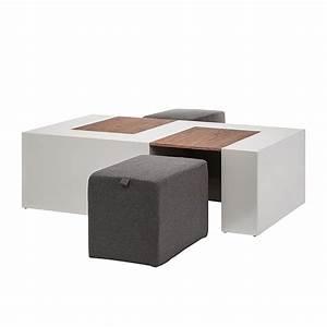 Couch Hocker Als Tisch : couchtisch 2 hocker set beistelltisch wohnzimmer couch tisch wohnzimmertisch ebay ~ Bigdaddyawards.com Haus und Dekorationen