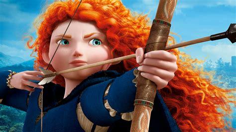 Animated Princess Wallpapers - wallpaper princess merida brave animation disney