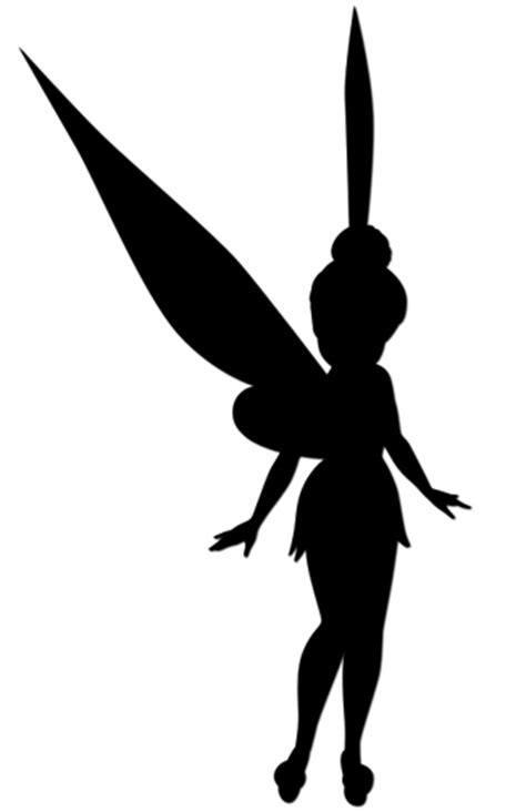 Tinkerbell Silhouette Stencil at GetDrawings | Free download