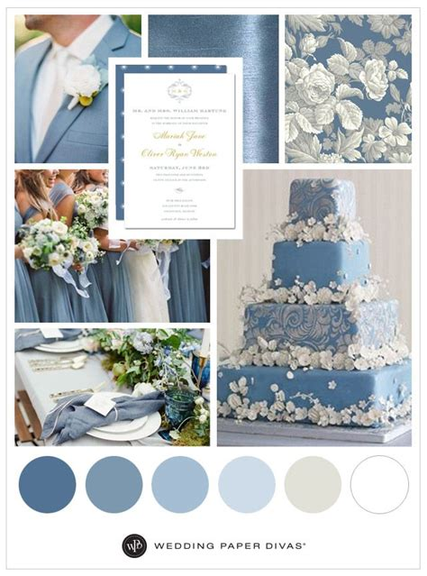 dusty blue wedding inspiration cool stuff blue wedding