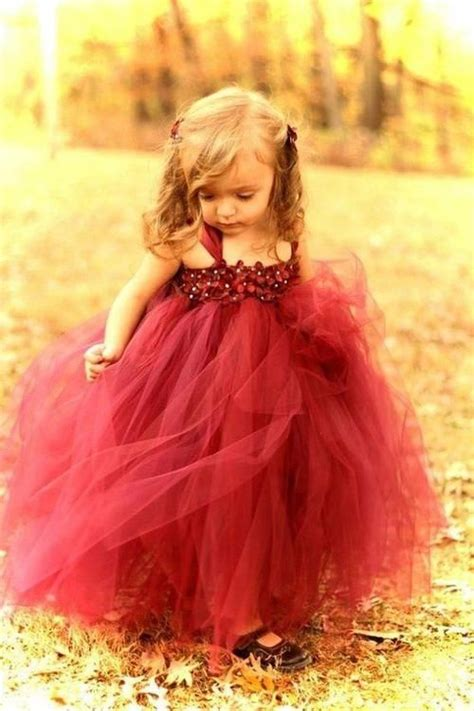 cute dress   flower girl   fall wedding