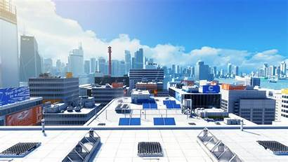 Rooftop Edge Action Running Games Mirrors Adventure