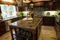 inexpensive kitchen island kitchen with large island stock photo image of dining 1855