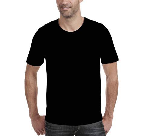 Kaos Polisi Hitam template kaos polos hitam depan belakang untuk desain kaos